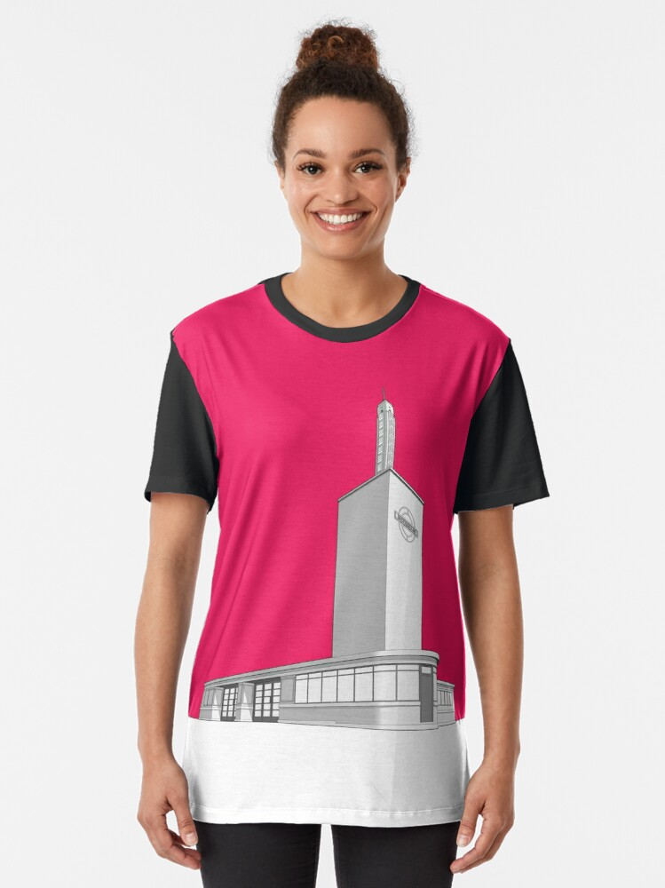 Alternate view of Osterley station Graphic T-Shirt
