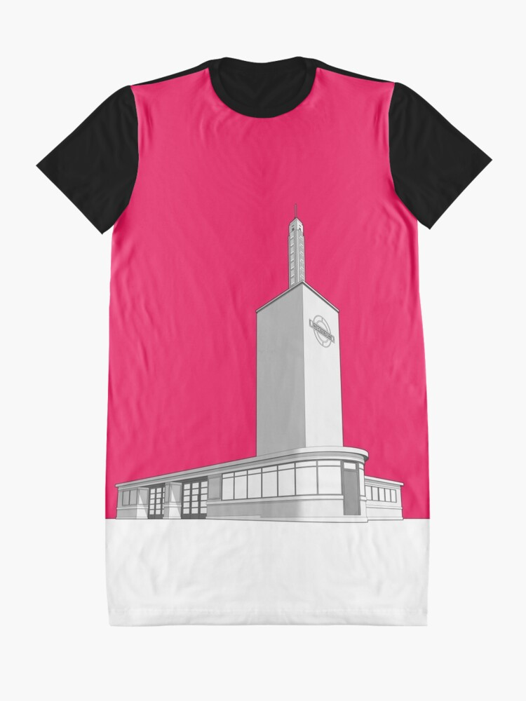 Alternate view of Osterley station Graphic T-Shirt Dress