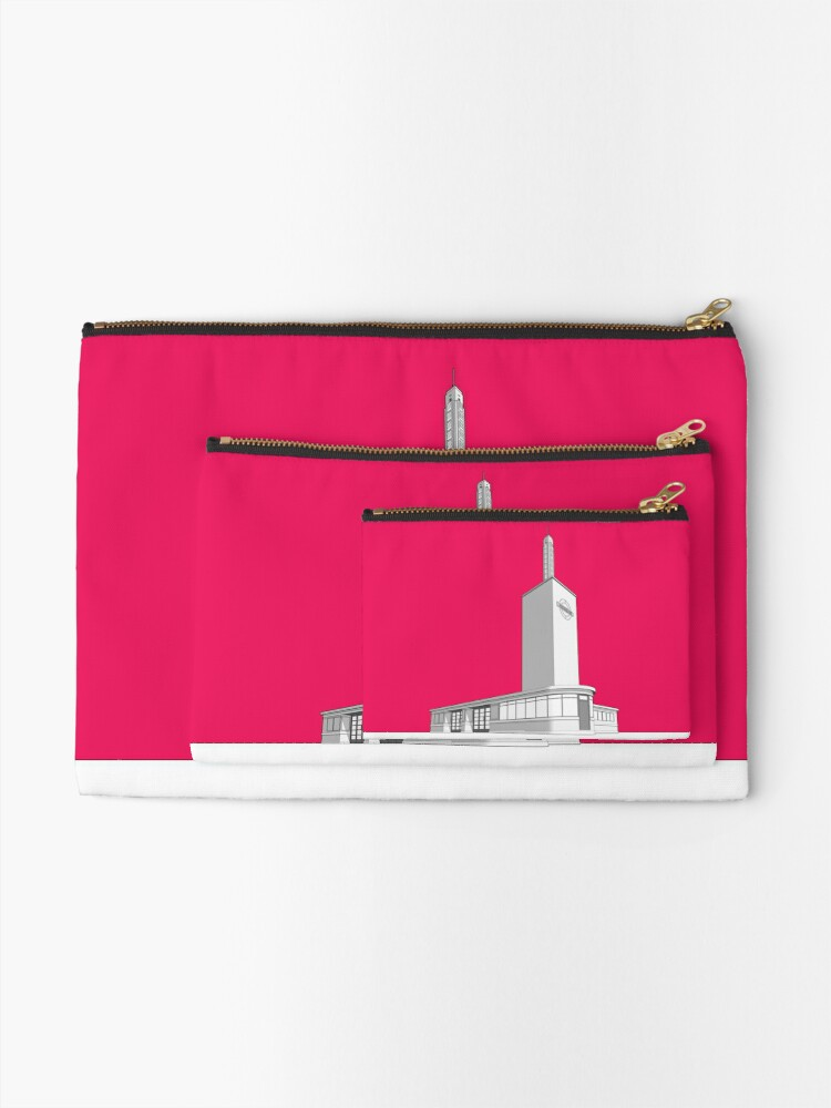 Alternate view of Osterley station Zipper Pouch