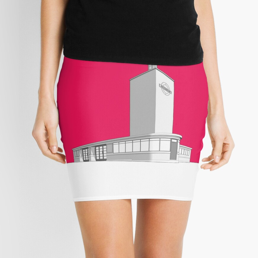 Osterley station Mini Skirt