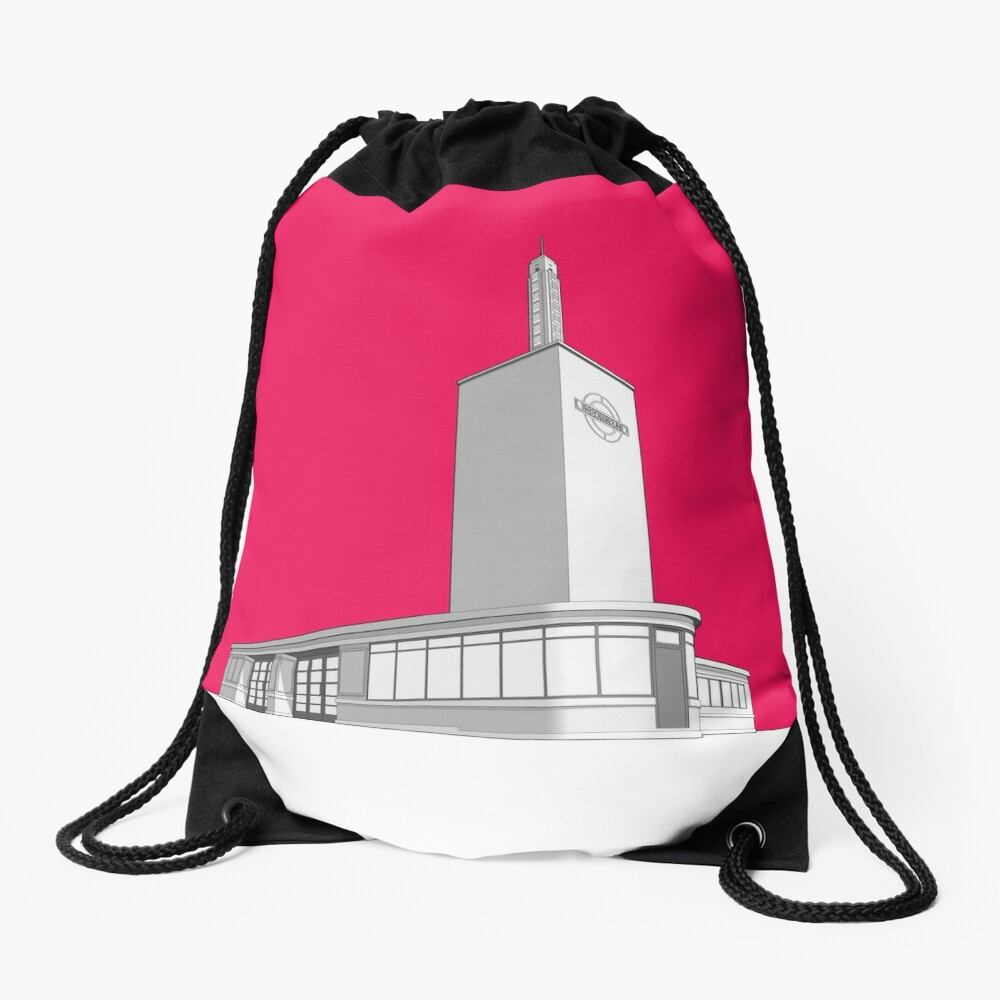 Osterley station Drawstring Bag