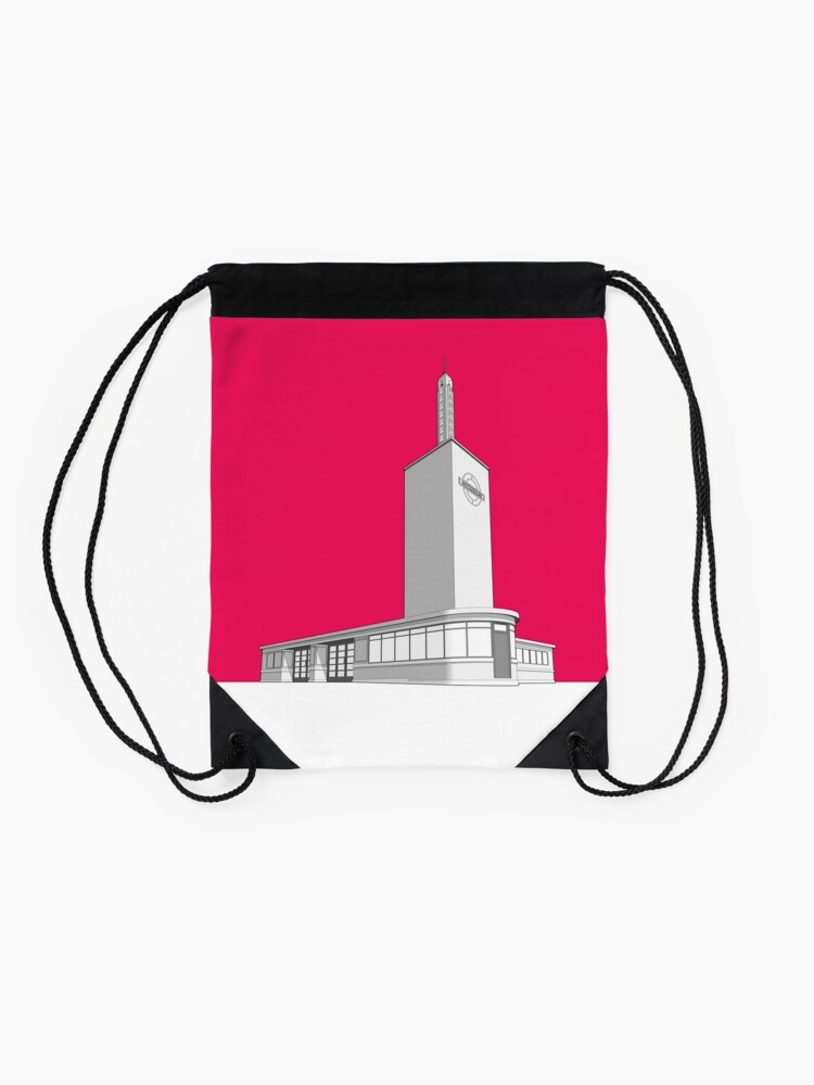Alternate view of Osterley station Drawstring Bag