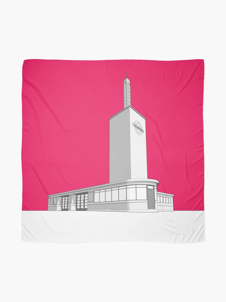 Alternate view of Osterley station Scarf