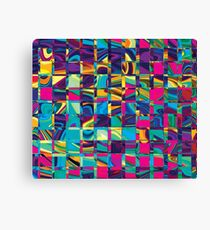 Abstract Sqaures Three Canvas Print