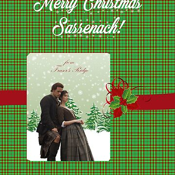 Merry Christmas Sassenach-From Fraser's Ridge by Sassenach616