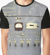 Retro control panel for trains in metro Graphic T-Shirt