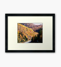 Autumn Splendor-Cabot Trail Framed Print