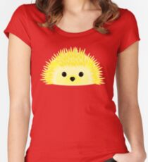 Edgy the Hedgehog Women's Fitted Scoop T-Shirt