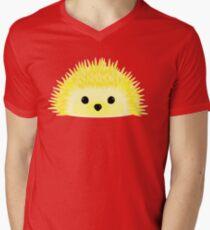 Edgy the Hedgehog Men's V-Neck T-Shirt
