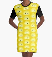 Edgy the Hedgehog Graphic T-Shirt Dress