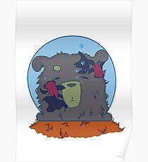 Bear in jar Poster