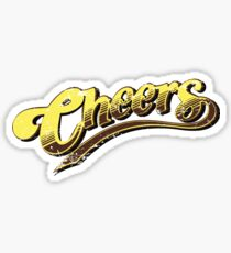Cheers 80s TV Show 1980s Ted Danson Boston Bar Beer Sitcom Sticker