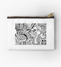 Tentacle zendoodle - the first Studio Pouch