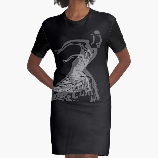 Shadow Dancer  Graphic T-Shirt Dress