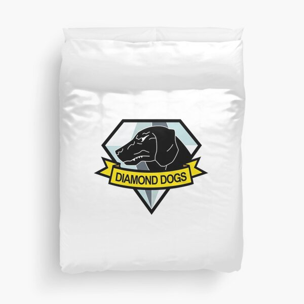 Metal Gear Solid - Diamond Dogs Insignia Duvet Cover