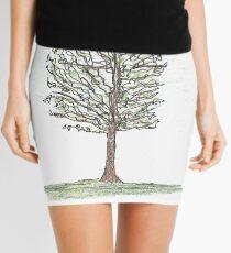 spring tree Mini Skirt