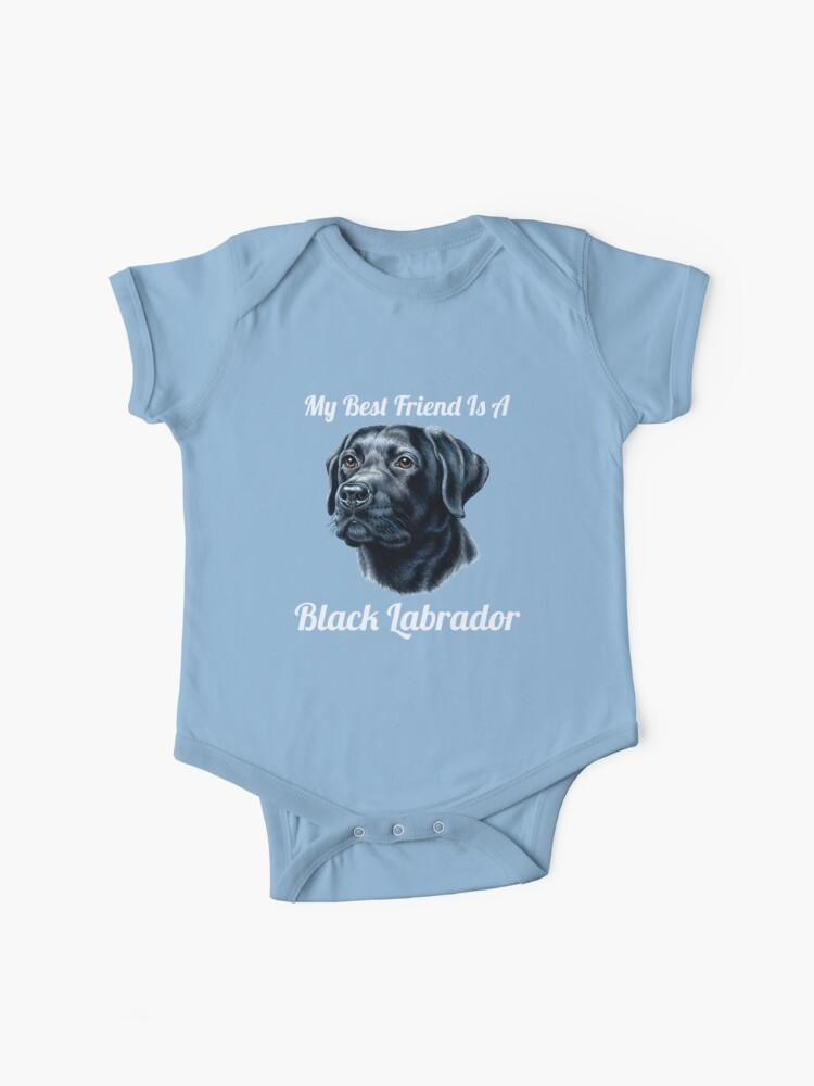 Lab Apparel Labrador Bodysuit Baby Shower Gift My Best Friend Is A Labrador