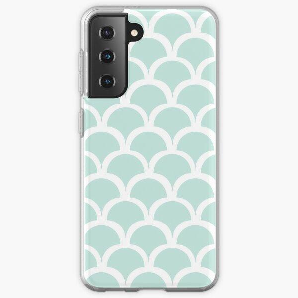 Mermaid Scale Pattern Samsung Galaxy Soft Case