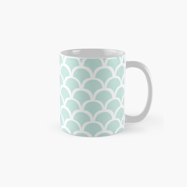 Mermaid Scale Pattern Classic Mug
