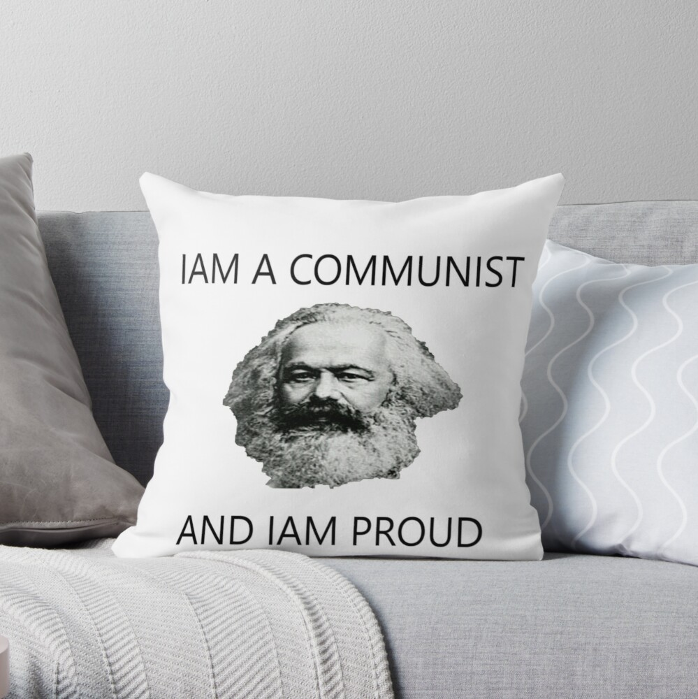 Karl Marx  Dekokissen