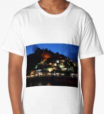 Nighttime in Berat, Albania Long T-Shirt