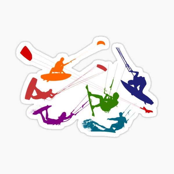 Kitesurfers Sticker