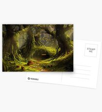 The Forgotten Forest Postcards