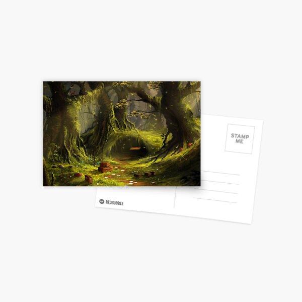 The Forgotten Forest Postcard