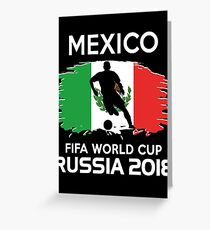 Mexico Team World Cup 2018 Greeting Card