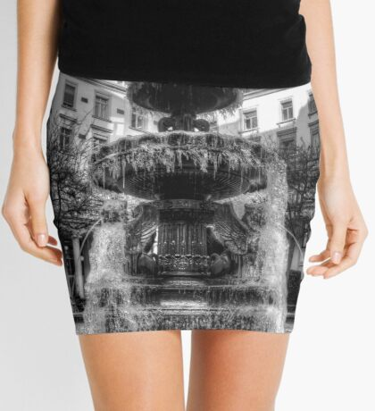 Frozen Fountain Mini Skirt