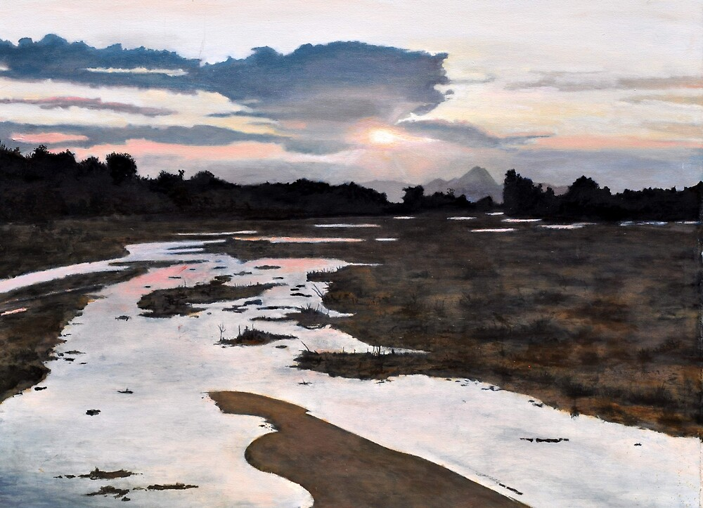 Tanque Verde Creek by James Lindsay