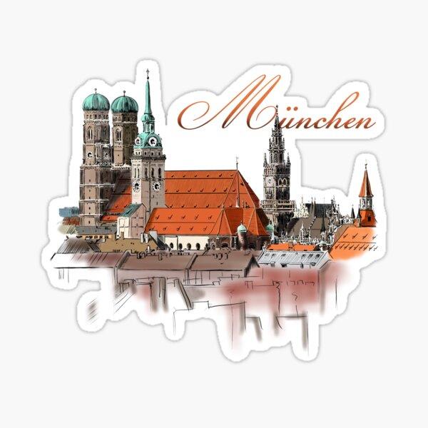 Munich Sticker
