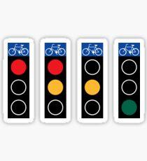 Stoplights Sticker