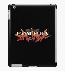 Neon Genesis Evangelion Logo Designs iPad Case/Skin