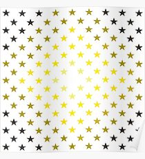 Stars in Space Poster