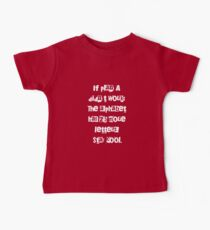 Funny Sayings Sarcasm Lover Gifts - Typography Art Baby Tee