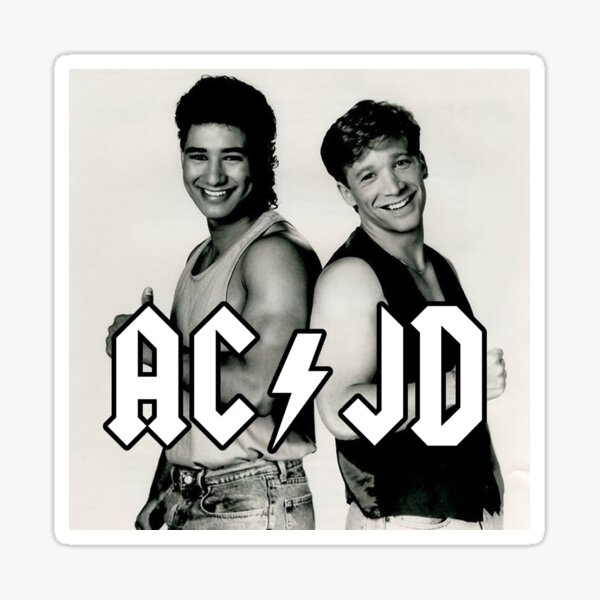 AC / JD Sticker
