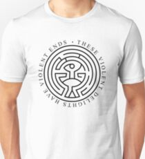 Westworld - These violent delights have violent ends (white) Unisex T-Shirt