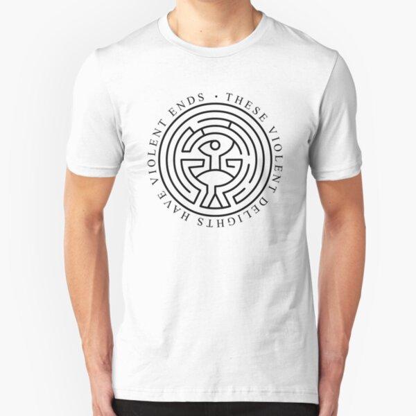 Westworld - These violent delights have violent ends (white) Slim Fit T-Shirt
