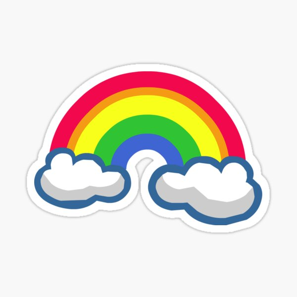 Rainbow Wallpapers Stickers Redbubble