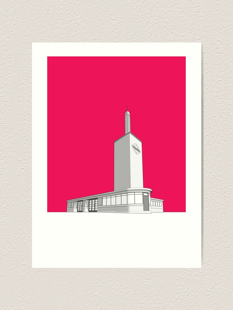 Alternate view of Osterley station Art Print