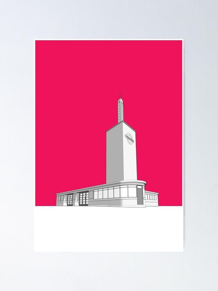 Alternate view of Osterley station Poster