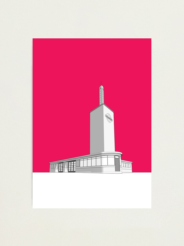 Alternate view of Osterley station Photographic Print