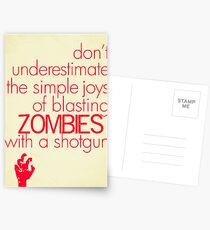 Zombies Postcards