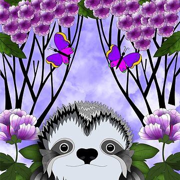 Erin's Sloth by Tatham