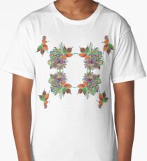 Psychedelic lady Long T-Shirt