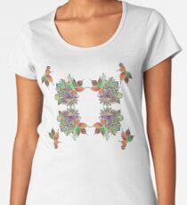 Psychedelic lady Women's Premium T-Shirt