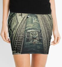 you are waiting for a train Mini Skirt