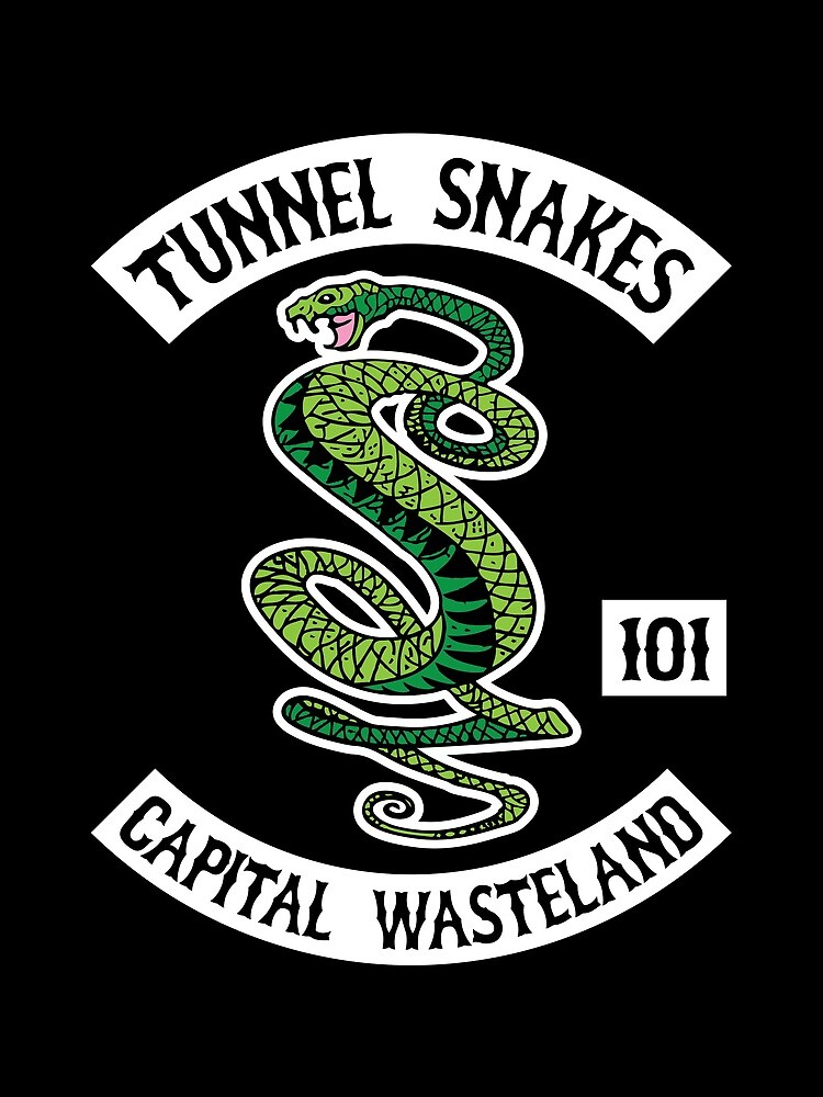 Tunnel Snakes - Capital Wasteland by robertllynch