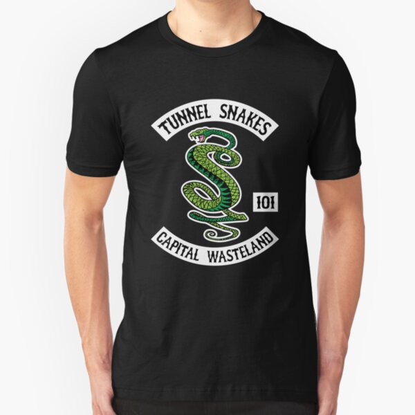 Tunnel Snakes - Capital Wasteland Slim Fit T-Shirt